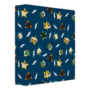 How To Train Your Dragon | Dragon Badges Pattern 3 Ring Binder