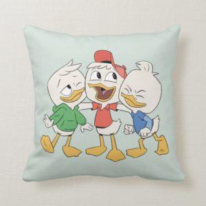 Huey, Dewey & Louie Throw Pillow