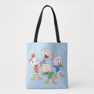 Huey, Dewey, Louie & Webby Tote Bag