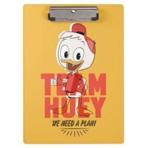 Huey Duck | Team Huey - We Need a Plan! Clipboard