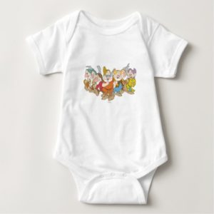 The Seven Dwarfs 6 Baby Bodysuit