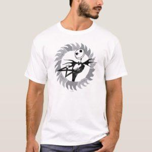 Jack Skellington | Saw Blade Frame T-Shirt