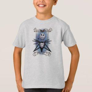 Jack Skellington   Spider Web Frame T-Shirt