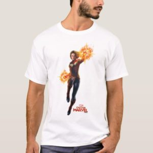 Captain Marvel | Stellar Engery Hand Raised T-Shirt