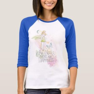Tinker Bell Love And Happiness T-Shirt