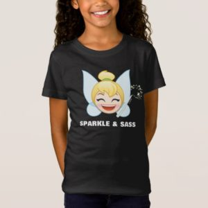 Tinker Bell Emoji | Tinker Bell with wand T-Shirt