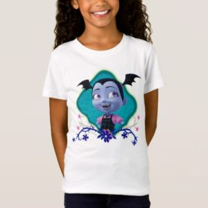 Disney   Vampirina - Vee - Gothic Floral T-Shirt