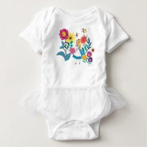Alice in Wonderland | The Wonderland Flowers Baby Bodysuit