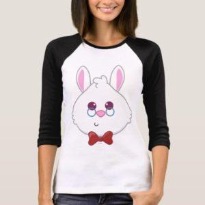 Alice in Wonderland   White Rabbit Emoji 2 T-Shirt