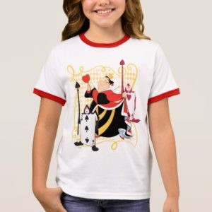 The Queen of Hearts | The Queen's Card Soldiers Ringer T-Shirt
