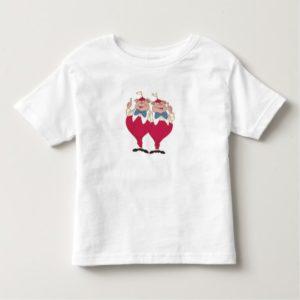 Tweedle Dum and Dee Disney Toddler T-shirt