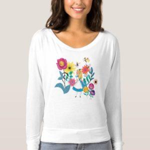 Alice in Wonderland | The Wonderland Flowers T-shirt