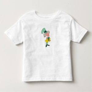 Alice in Wonderland Mad Hatter standing talking Toddler T-shirt