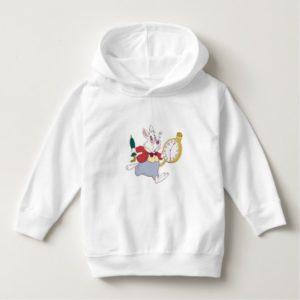 Alice in Wonderland's White Rabbit Running Disney Hoodie