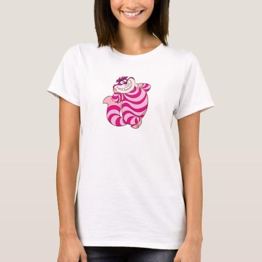 5208b357 Alice in Wonderland's Cheshire Cat Disney T-Shirt - Custom Fan Art
