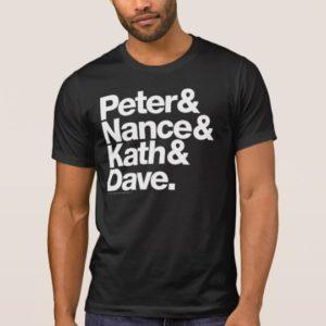 Peter & Nance Kath & Dave Portlandia Ampersand Tee