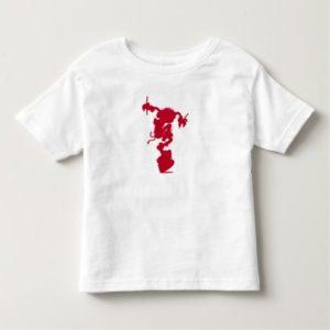 Muppets Animal Silhouette Drumming Disney Toddler T-shirt