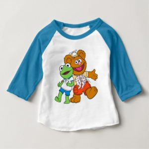 Fozzie and Kermit Baby T-Shirt