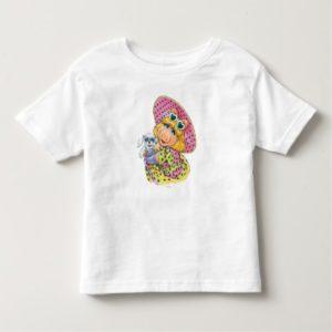 Miss Piggy Holding Puppy Toddler T-shirt