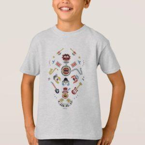 The Muppets Electric Mayhem Iconic Shape Graphic T-Shirt