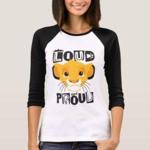 Simba   Loud And Proud T-Shirt