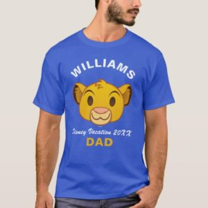 The Lion King | Simba Emoji - Family Vacation T-Shirt