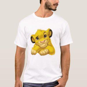 Simba The Lion King Raised Eyebrow Disney T-Shirt