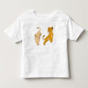 Lion King's Simba and Nala Playing Disney Toddler T-shirt