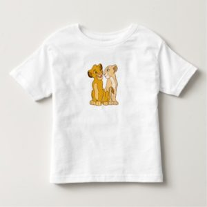 Simba and Nala Disney Toddler T-shirt