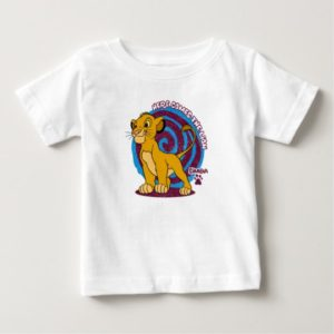 Simba Stands Proud Disney Baby T-Shirt