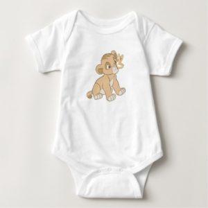 Lion King Simba cub butterfly on nose Disney Baby Bodysuit