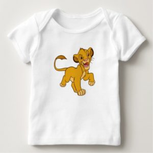 Lion King Simba walking Disney Baby T-Shirt