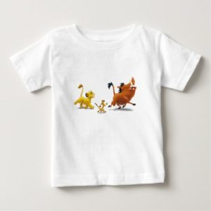 Lion King Simba cub timon pumbaa singing trotting Baby T-Shirt