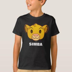 The Lion King   Simba Emoji T-Shirt