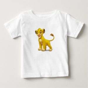 Lion King Simba cub standing Disney Baby T-Shirt