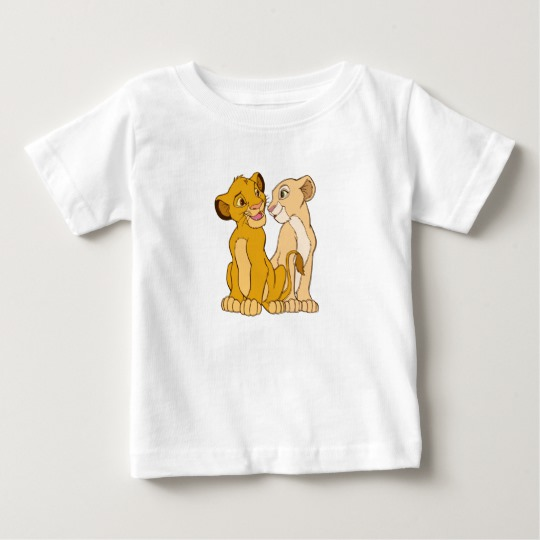 Simba and Nala Disney Baby T-Shirt
