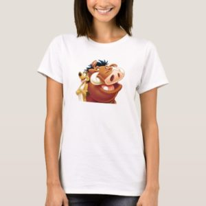 Lion King Timon and Pumba smiling Disney T-Shirt