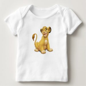Lion King Simba cub playful Disney Baby T-Shirt