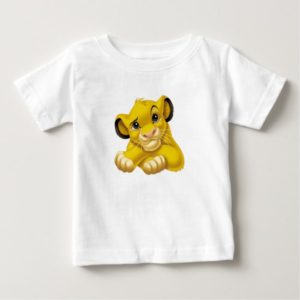 Simba The Lion King Raised Eyebrow Disney Baby T-Shirt