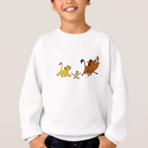 Simba, Timon, and Pumba Disney Sweatshirt