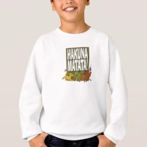 Disney Lion King Hakuna Matata! Sweatshirt