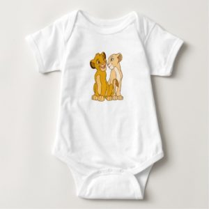 Simba and Nala Disney Baby Bodysuit