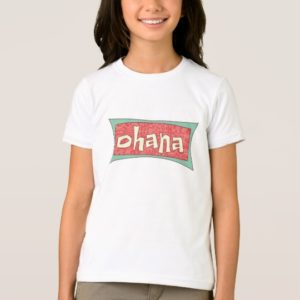 Ohana Text Disney T-Shirt