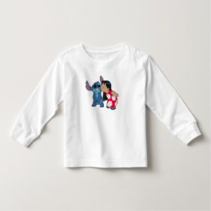 Lilo kisses Stitch Toddler T-shirt