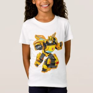 Transformers   Bumblebee Punching Pose T-Shirt