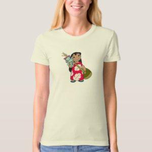Lilo & Stitch Lilo with red flowered muumuu mumu T-Shirt