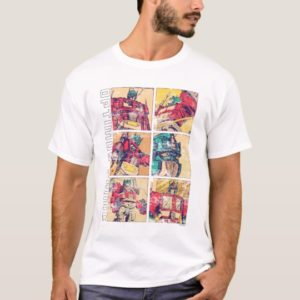 Transformers | Optimus Prime Comic Strip T-Shirt