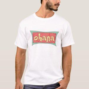 Ohana Text Disney T-Shirt