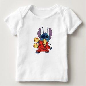Lilo & Stitch's Stitch with Ray Guns Baby T-Shirt