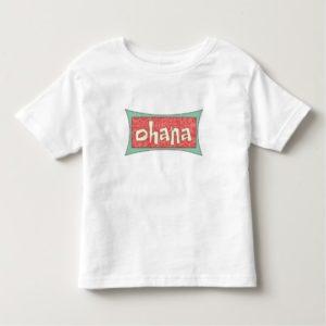 Ohana Text Disney Toddler T-shirt